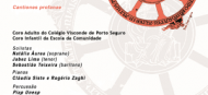 Colégio Visconde de Porto Seguro apresenta Carmina Burana