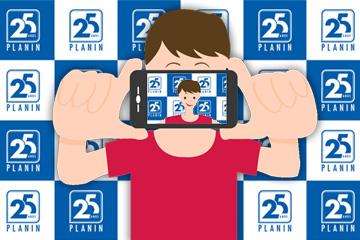 Selfie 25 Anos PLANIN
